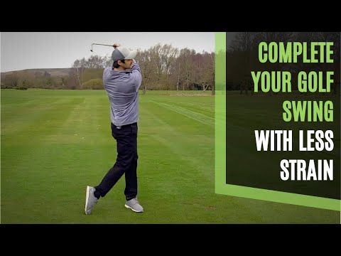 3 SIMPLE TIPS TO A FULL FINISH AND COMPLETE YOUR GOLF SWING SMOOTHLY WITH LESS STRAIN
