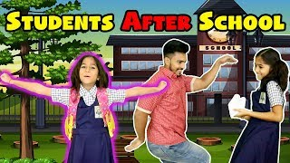 Types Of Students After School | Funny Video | Pari's Lifestyle