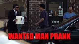 Wanted Man Prank