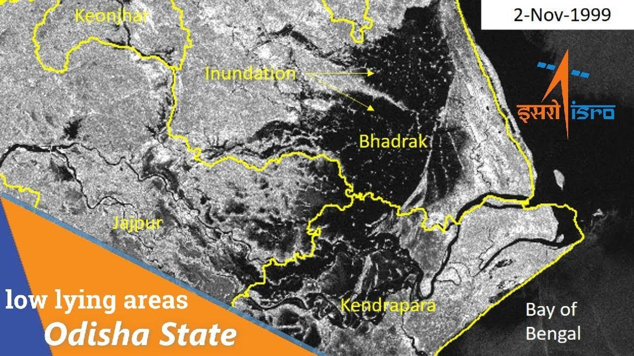 Phailin Cyclone Odisha & AP And west bengal | ISRO