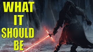 Star Wars: Force Awakens - What it Should Be