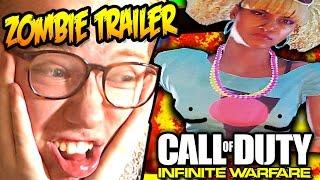 INFINITE WARFARE ZOMBIES TRAILER + BOX REACTION!!!