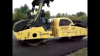 Intelligent Compaction (INDOT Demo) Part 1 of 3: HMA IC Demo