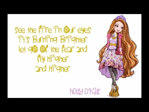 Ever After High - Power Princess Shining Bright w/lyrics