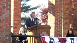 148th Dedication day Ceremony - Speaker Stephen Lang