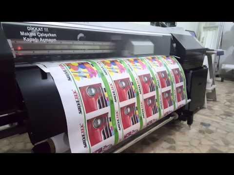 Oki Color Painter M64-S Canvas Printing