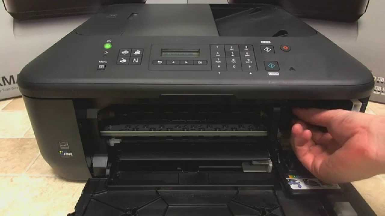 hp printer how to get ink cartridge out