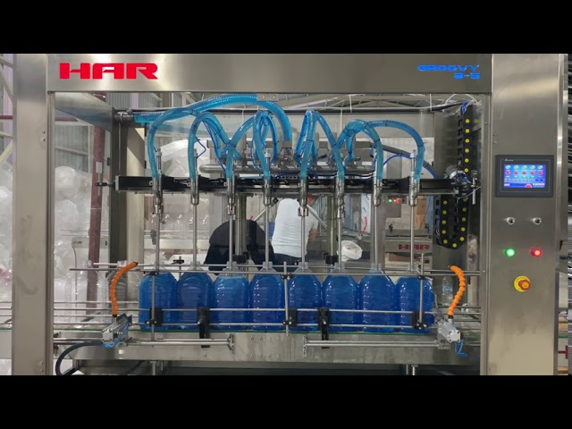 Oto Cam Suyu Dolum Makinası - HAR Makina A.Ş.