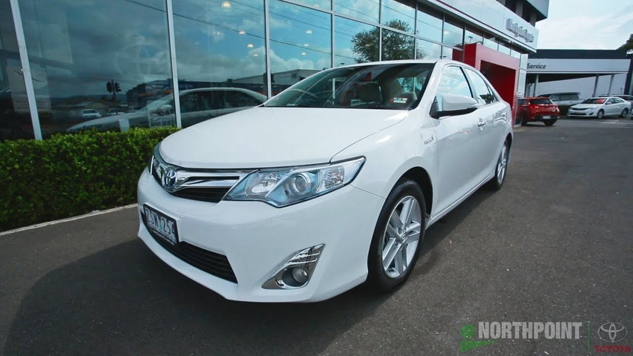 North Point Toyota >> 2013 Toyota Camry Hybrid Review Northpoint Toyota