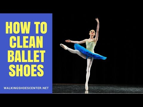 How To Clean Ballet Shoes | Leather ballet shoes, Canvas ballet shoes