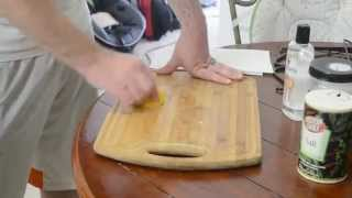 How To Clean And Oil A Cutting Board