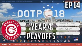 YEAR 4 ALDS | Out of the Park (OOTP) Baseball 18 Expansion Franchise Ep. 14