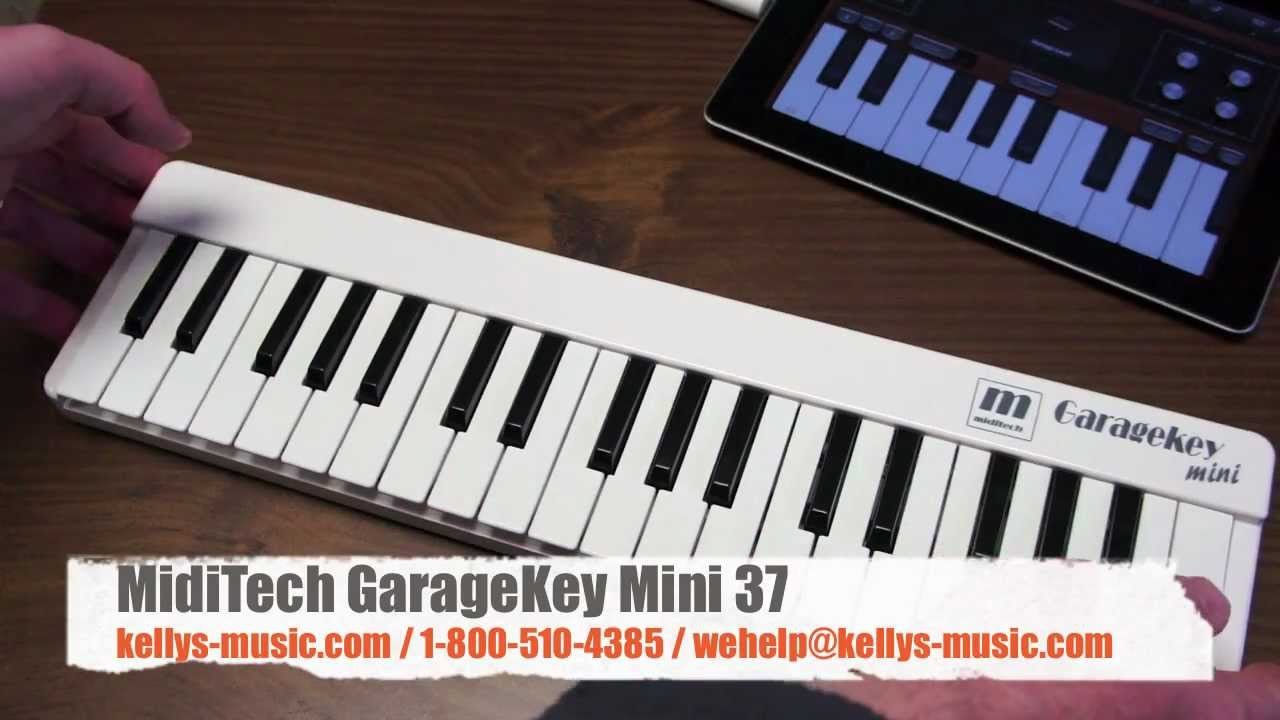 garagekey mini 37 usb midi keyboard ipad mac pc youtube. Black Bedroom Furniture Sets. Home Design Ideas