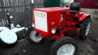 КРУТАЯ САМОДЕЛКА !!!!   Мини-трактор.Selbstgemachte Traktor. !!!! Mini-Traktor.Donald Trump