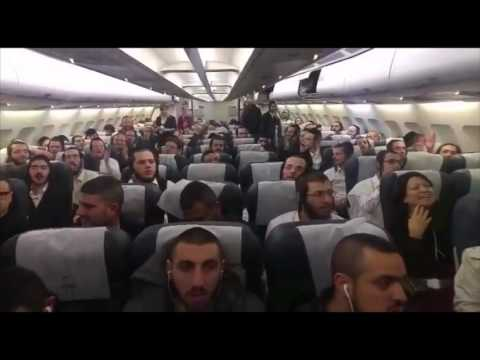 Yeshiva Students Conduct Kumzits On Plane During Flight