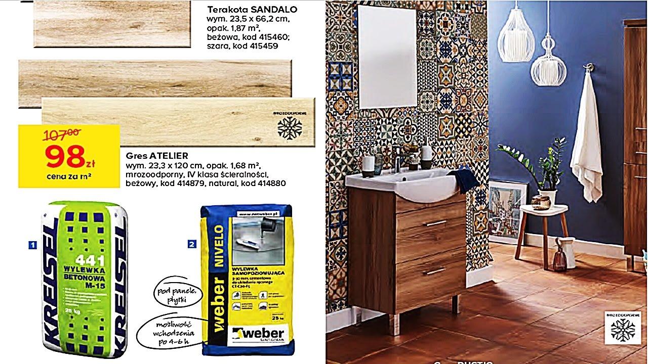 Nowa Gazetka Castorama Od 25012017 Projekt łazienka