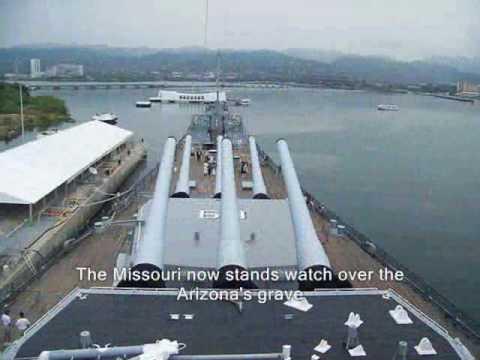 USS Arizona - USS Missouri Memorial