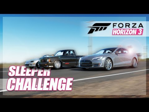 Forza Horizon 3 - Insane Sleeper Challenge! (Funny Moments/Challenges) thumbnail