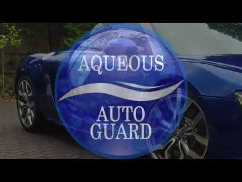 Aqueous Auto Guard AU4 Paint Coat - Application Video