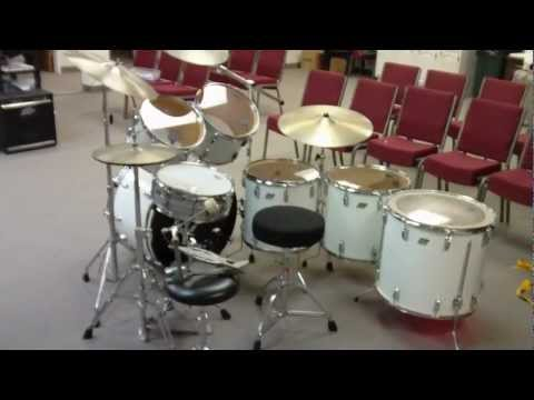 Ludwig Classic Drum Kit (1975) with Vintage Zildjian Cymbals
