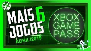 JOGO NÃO FALTA! 6 NOVOS JOGOS chegando em ABRIL ao XBOX GAME PASS! FALTA é ESPAÇO!