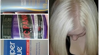 How to: Bleach your roots, do a bleach wash and DIY no damage- toner
