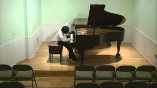 Chopin Scherzo No. 2 in B-flat minor, Op. 31 -- Henry Tang Piano