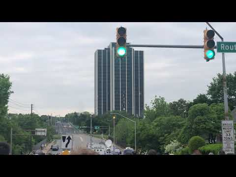 Demolition Of Martin Towers In Bethlehem Pennsylvania