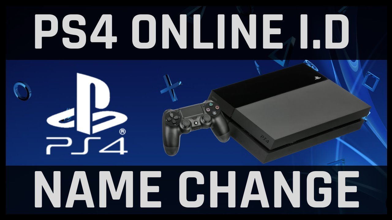 PS4 online ID name change