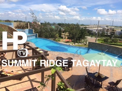 Summit ridge hotel tagaytay ridge overview room pool spa Tagaytay 4 star hotels with swimming pool