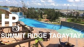 Summit Ridge Hotel Tagaytay Ridge Overview Room Pool Spa Parking by HourPhilippines.com