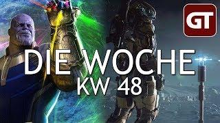 Thumbnail für Avengers-Überfluss & interstellarer Immobilien-Beschiss – Die Woche KW 48 – GT-Talk #74