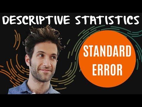 Standard Error (of The Sample Mean)   Sampling   Confidence Intervals   Proportions