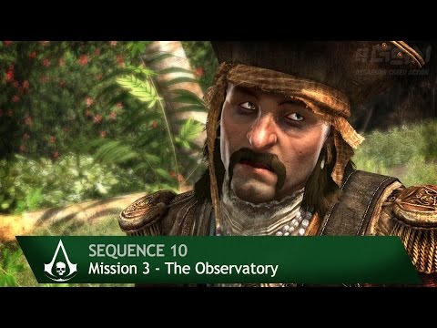 Assassin's Creed 4: Black Flag [100% Sync] The Observatory [Sequence 10 - Mission 3]