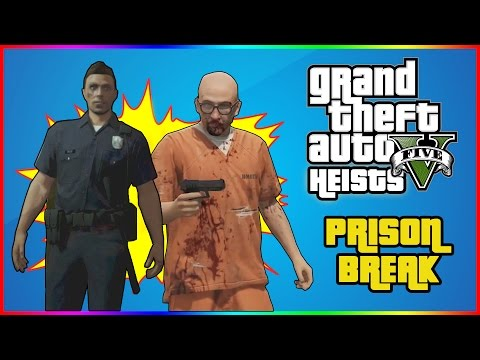 GTA Online Heists - The Prison Job - Part 2