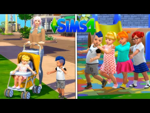 Mom Morning Routine In Sims 4 With Baby Goldie - New Preschool U0026 Acting Job