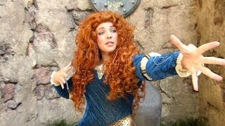 "Princess Merida from Brave - ""What Does Merida Like to Do?"" at Disney World"