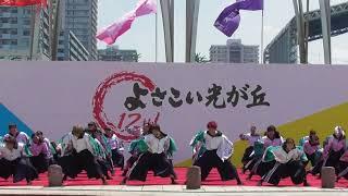 7月15日(日)に東京都練馬区で開催された第12回よさこい光が丘(よさこ...