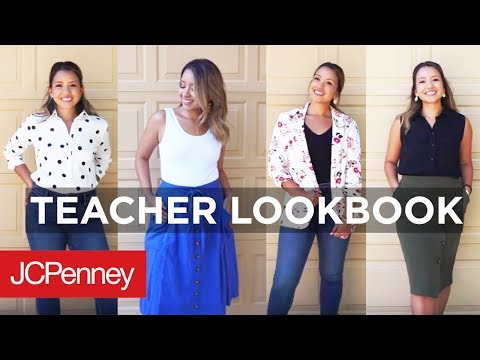 Back To School Lookbook For Teachers | JCPenney