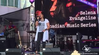 Wonderwall - Oasis cover by Selena Evangeline (Live at 2015 Luminato Festival