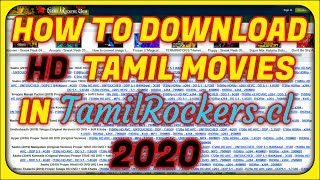 (RP) how to download new Tamil movies in tamilRockers 2020 | HD | tamil
