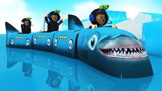 The Shark Train : Toy Factory Choo Choo Cartoon