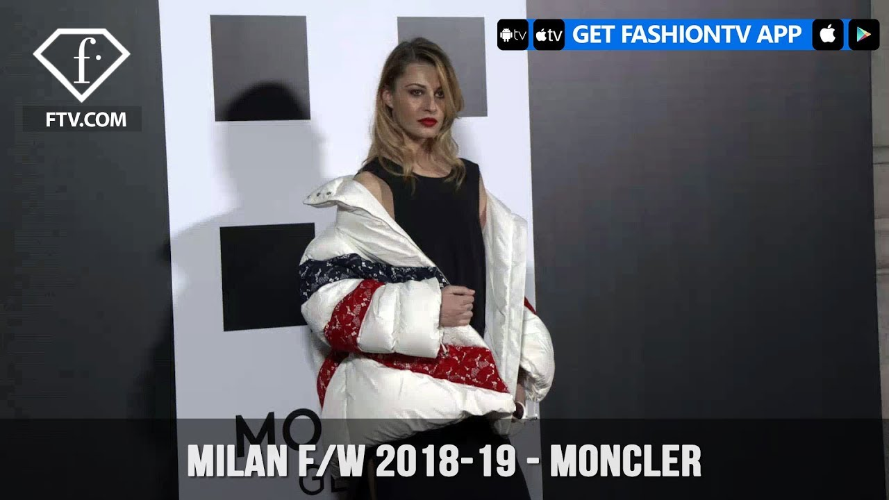 Milan Fashion Week Fall/Winter 18-19 - Moncler Genius | FashionTV | FTV