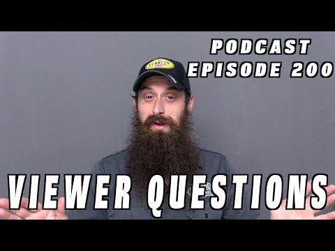 Viewer Car Questions ~ Podcast Episode 200