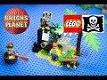 Shipwreck Island 6260 LEGO Pirates - Stop Motion Review