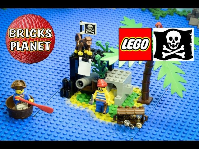 Shipwreck Island 6260 Lego Pirates Stop Motion Review Youtube