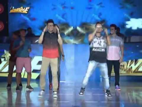 Vhong and Jhong dances I Saw the Sign