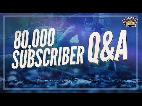 My Future in Esports - 80,000 Subscriber Q&A