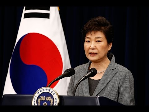 South Korea's president willing to resign over extortion scandal