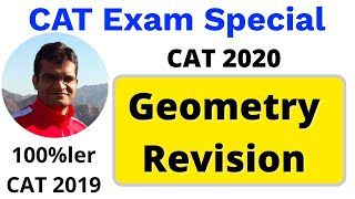 CAT Exam Special 🔴 Live Workshop - CAT Geometry Revision by Maruti Sir (CAT 100%ler)
